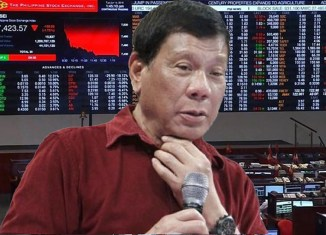 Stocks, peso drop as foreign investors start worrying about Duterte's course