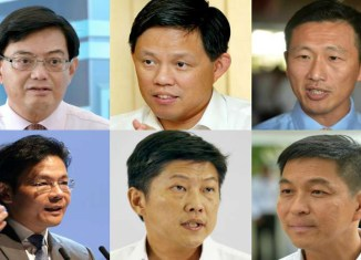 The search is on for Singapore's new prime minister