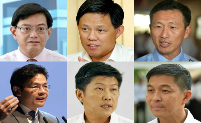 Singapore PM succession