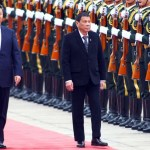 """Duterte in China: """"Time to say goodbye to America"""""""