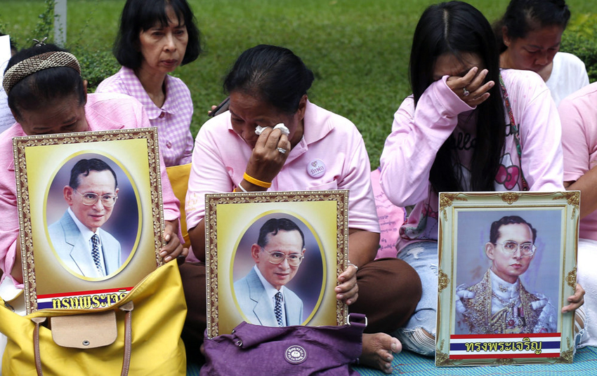 King of Thailand passes away – Crown Prince to succeed