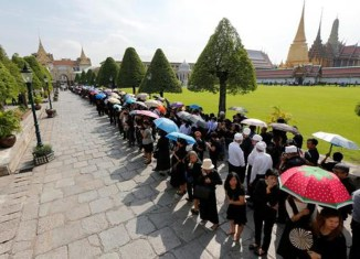 Coronation of new Thai king postponed for at least a year