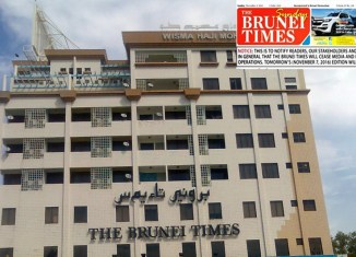 Brunei Times in surprise closedown