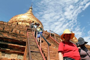 Visitor numbers to Myanmar slump significantly