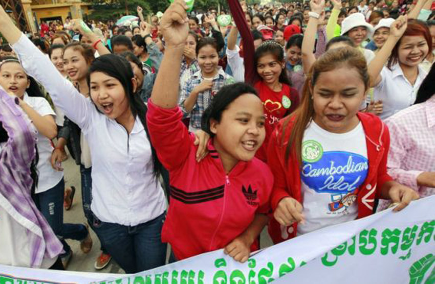 Cambodia to set minimum wage for all workers
