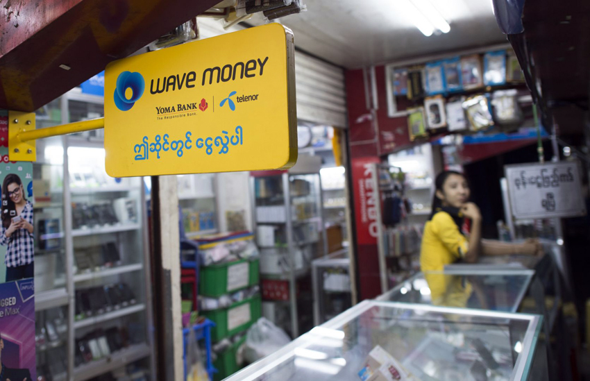 Mobile money services booming in Myanmar