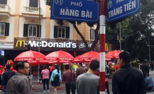 Finally, McDonald's ventures into Communist heartland Hanoi