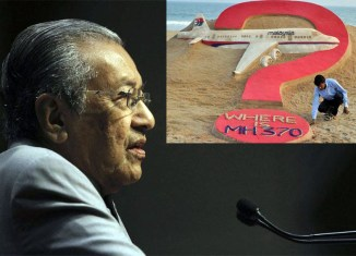 Mahathir takes flak for rehashing MH370 takeover theory