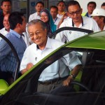 Mahathir muses about jointly developed Malaysian-Indonesian car