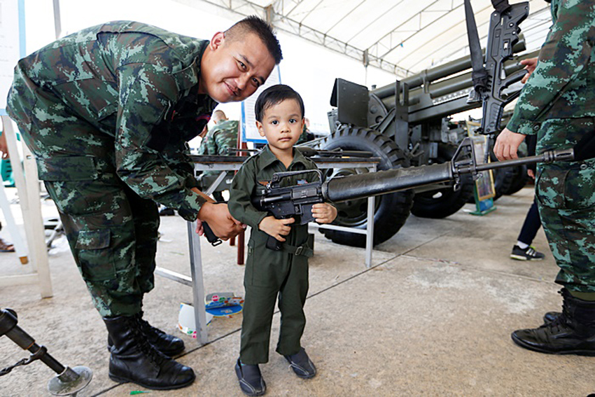 Thai junta hikes security and defense budget by 20% to $10 billion