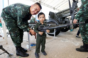 Thai junta hikes security and defense budget by 20% to  billion