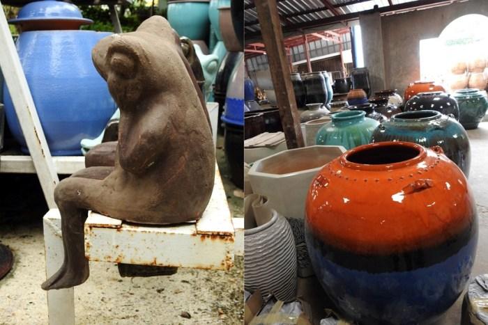 The dragon pots of Rat-Jar-buri, Thailand
