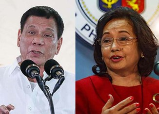 Gloria Macapagal-Arroyo and Rodrigo Duterte