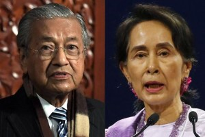 "Mahathir ""lost all faith"" in Myanmar's Suu Kyi, ends support"