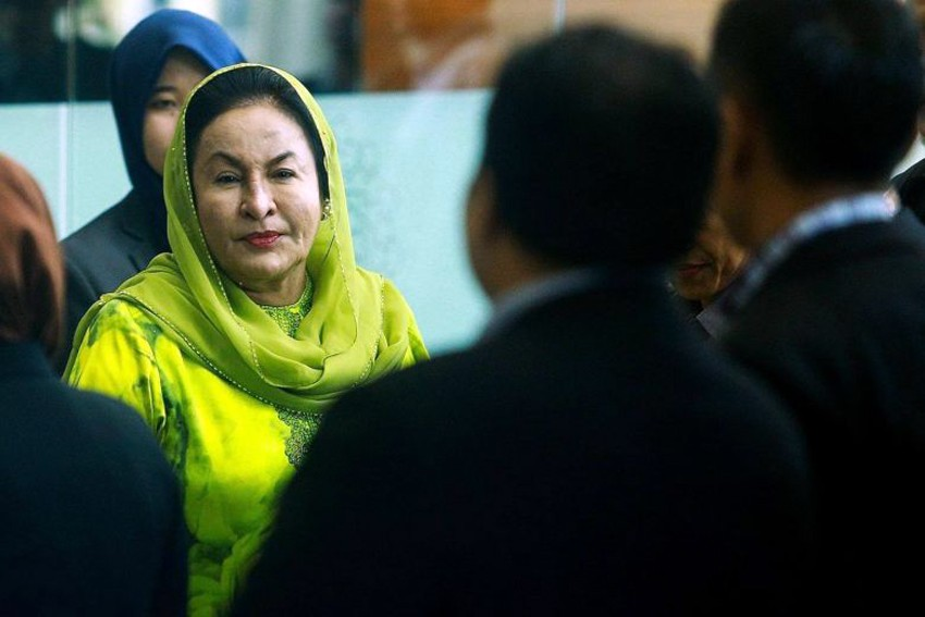 Malaysia Ex-PM's wife Rosmah arrested, to be charged with money laundering
