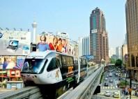 Kuala Lumpur Malaysia Monorail