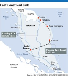 Malaysia Cancels $20-billion Rail Project With Chinese Contractor