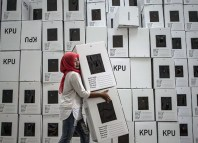 Over 190 Million Indonesians Go To World's Largest Polls