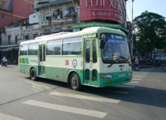 Bus system in HCMC