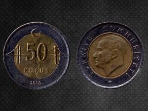 50 Kurus Turkey
