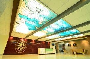 AIM lobby ceiling