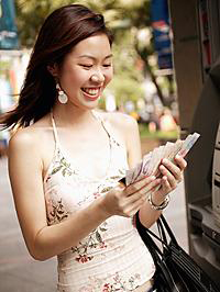 ATM Lady