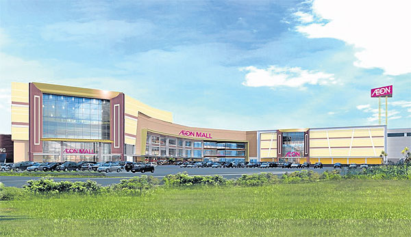 Investvine southeast asias business news site page 308 japanese mall operator aeon co has started construction on cambodias first high end foreign financed shopping mall at a prime location in the capital malvernweather Image collections