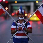 Bangkok shutdown in full swing