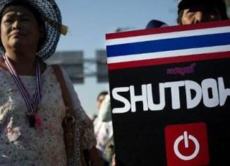 Bangkok businesses feel the heat