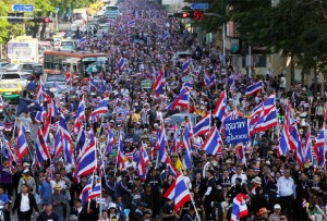 BKK street protest