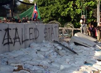 Photoblog: Bangkok riots