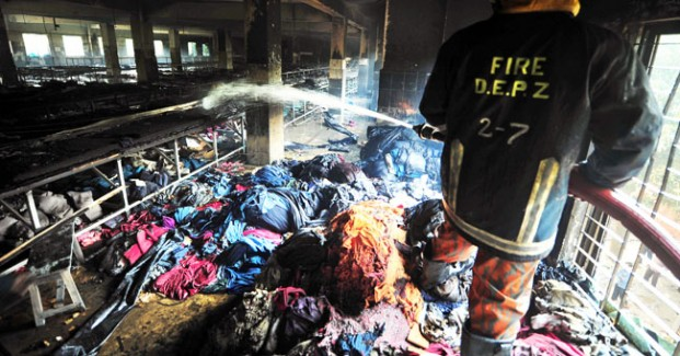 Next disaster in Dhaka clothing factory