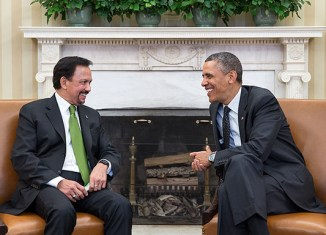 Obama, Sultan of Brunei discuss TPP