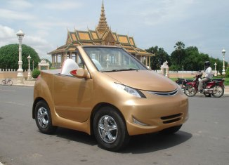 Cambodia wants its own car industry