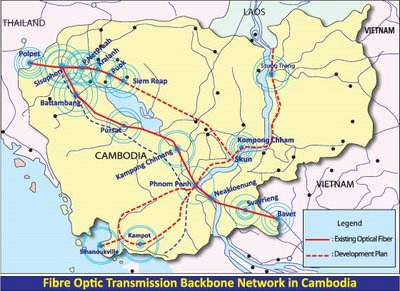 Cambodia to speed up Internet with $80m submarine cable