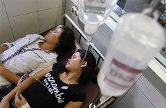 Cambodia fainting