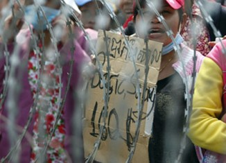Salary rise for Cambodian garment workers
