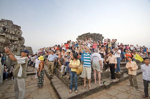 Cambodia tourism arrivals up 18%