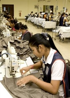 Cambodia exports up 21% in first quarter