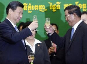 China-cambodia