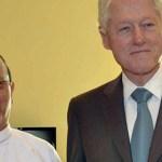 Bill Clinton on surprise trip to Myanmar
