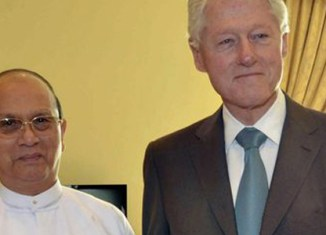 Bill Clinton on surprise trip to Myanmar