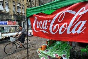 Coca cola Myanmar