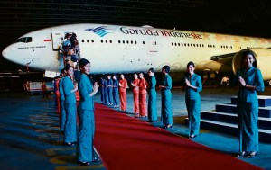 Garuda red carpet