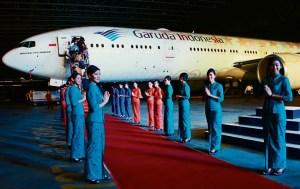 Garuda red carpet