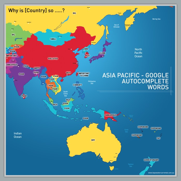 Google Autocomplete Asia-Pacific