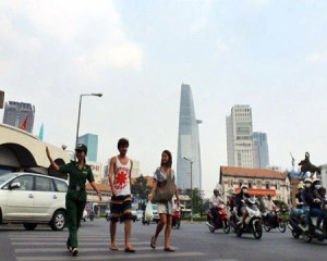HCMC tourists
