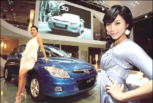 Hyundai motor show