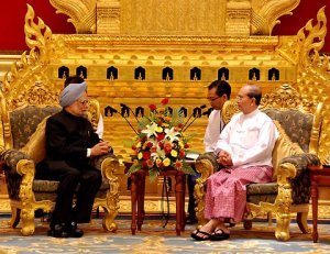 India-Myanmar presidents
