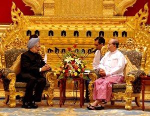 India-Myanmar presidents